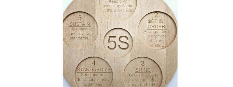 سیستم نظام آراستگی محیط 5S