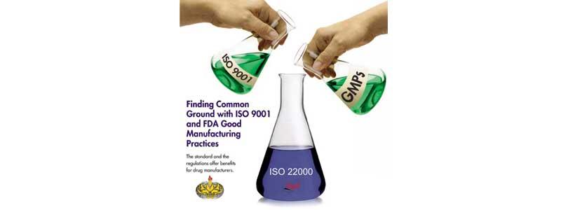 پیاده سازی و اخذ گواهینامه ISO 22000